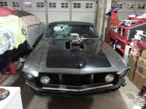 sell   mustang fastback   series pro street hot rod big block ford  lincoln