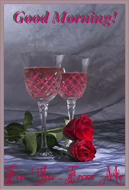 Morning Gifs Lovely Wishgoodmorning Rose Wishes Desicomments