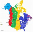 Printable Us Time Zone Map With States Valid 10 ...