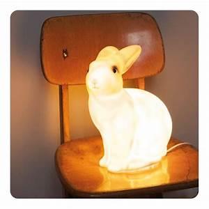 Veilleuse Bébé Lapin : veilleuse lapin laurette ~ Teatrodelosmanantiales.com Idées de Décoration