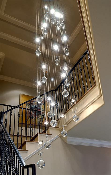 modern chandeliers for high ceilings best 25 high ceiling lighting ideas on high