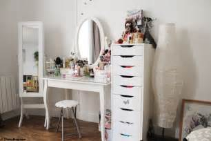 Armoire A Bijoux Et Maquillage by Coiffeuse Meuble Ikea Perfect Bedrooms Pinterest