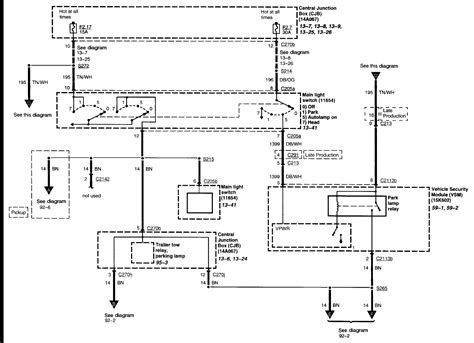 Trailer Wiring Diagram 7 Wire Circuit by No Running Lights On Trailer Tow Harness Side F350 2004 I