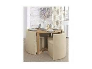 dining table round hideaway dining table