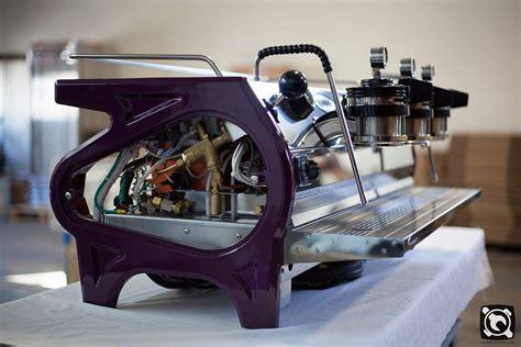 Purple Nespresso Machine by Custom La Marzocco Strada Espresso Machine Purple
