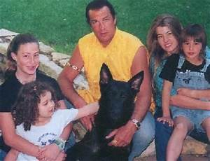 steven seagal kissing his kids photos | Did you remember ...