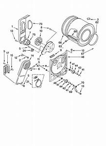 Estate Residential Dryer Cabinet Parts