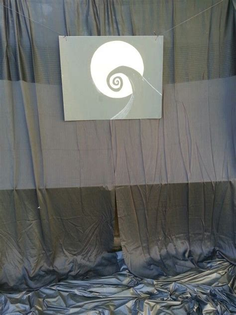Nightmare Before Photo Backdrop by Photo Backdrop Nightmare Before