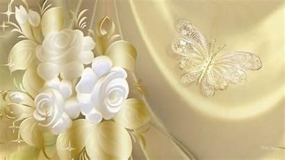 Elegant Gold Butterfly Wallpapers Elegance Golden Background