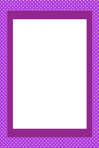purple invitation card frame  stock photo public