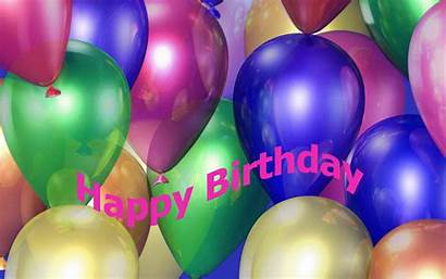 Birthday Happy Wallpapers Computer Wallpapercave Ballons Source