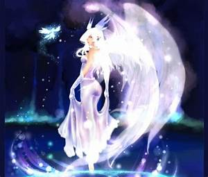Angel and Light Fairy - Other & Anime Background ...
