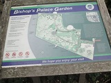 Map of Bishop's Palace Gardens - Picture of Bishop's ...