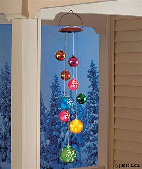 solar ornament mobile in stock christmas holiday outdoor