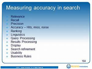TaxoDiary – Measuring Accuracy in Search