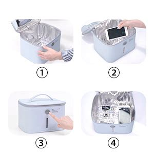 Amazon.com: UV Light Sanitizer Bag, UVC Cleaner