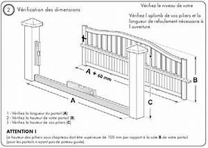 Comment Poser Un Portail : comment poser un portail coulissant ~ Premium-room.com Idées de Décoration