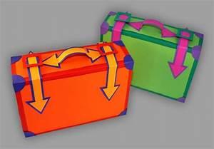 Basteln Mit Papier Anleitung : reisekoffer aus papier basteln so einfach geht s ~ Frokenaadalensverden.com Haus und Dekorationen