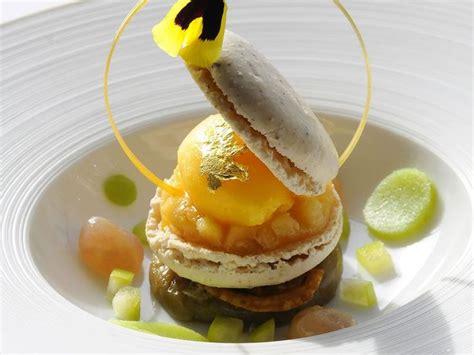 cours de cuisine christophe michalak macaron dessert plating presentation plated desserts