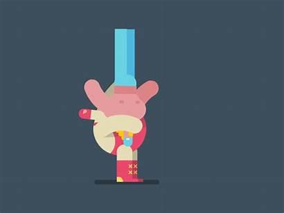 Suplex Gifs Animation Mendel Eran Animations Quirky