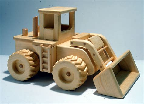 Wood Toy Plans - ReallyWood Road Crew