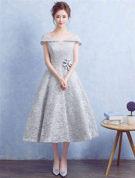 vintage inspired  shoulder floral lace dress