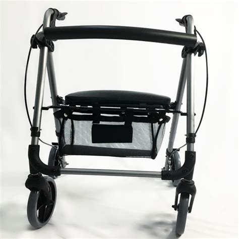 buy lightweight 4 wheel rollator walkers with seat