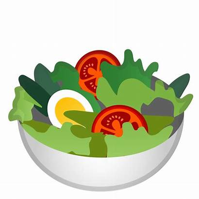 Clipart Lettuce Foods Salad Emoji Transparent Icon