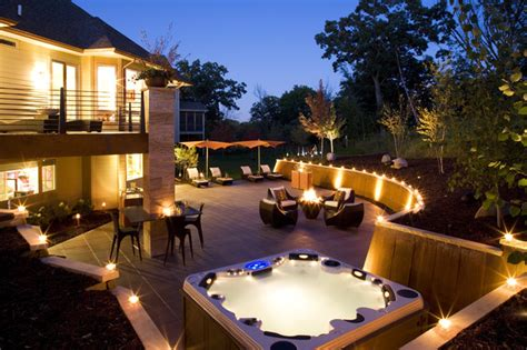 backyard entertainment outdoor entertainment modern exterior