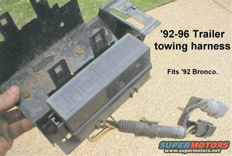 Trailer Wiring Without Tow Package Ford Forum