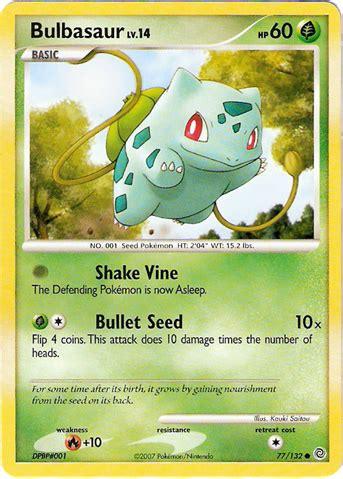 45 hit points 49 attack 49 defense 65 special 45 speed Bulbasaur (Secret Wonders 77) - Bulbapedia, the community-driven Pokémon encyclopedia