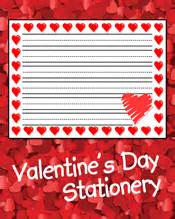 valentines day stationery primarygames play