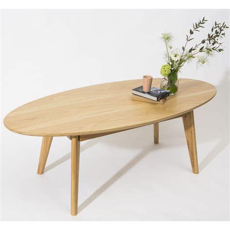 table basse ovale bois table basse ovale skoll esprit scandinave drawer