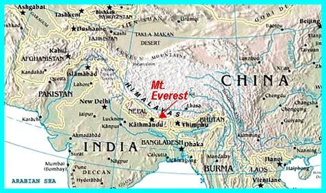 pics for gt himalayan mountains map