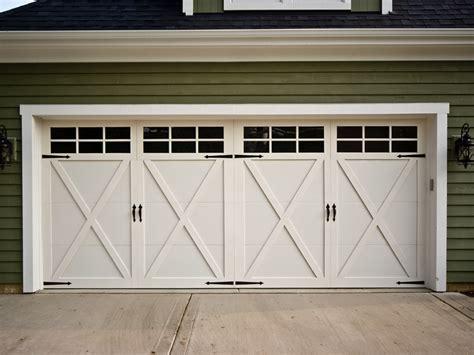 carriage garage doors carriage house garage doors design ideas decors