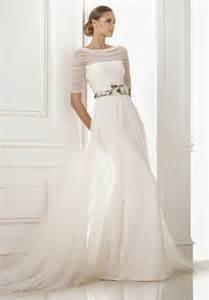 wedding dress 3 4 sleeve sleeved 3 4 length sleeve wedding gown inspiration 2134780 weddbook