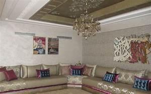 Modele De Salon : photos de salon marocain design 2015 d co salon marocain ~ Premium-room.com Idées de Décoration