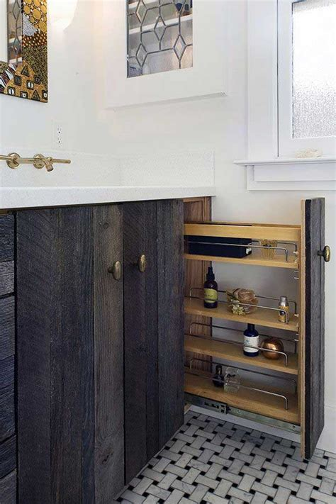 cool pull  storage ideas  bathroom homedesigninspired