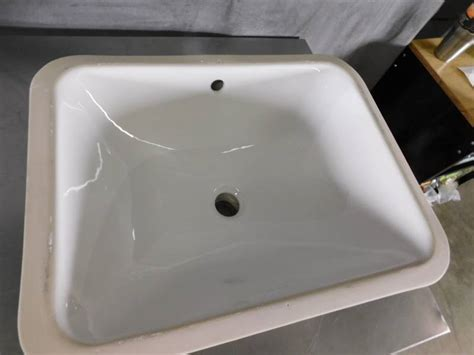 Kohler Caxton Sink Rectangular by Kohler K 20000 0 Caxton Rectangle 20 5 16 X 15 3 4 In