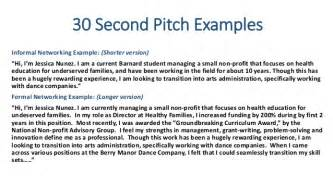 recommended pitch for resume jena search workshop