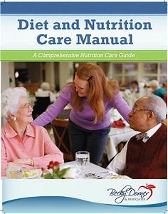 U201cdiet And Nutrition Care Manual 2014 Edition U201d Is Now Available