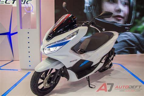 Pcx 2018 Bengkok by เด นสำรวจรถไฟฟ าในงาน Motor Show 2018 ภาครถจ กรยานยนต