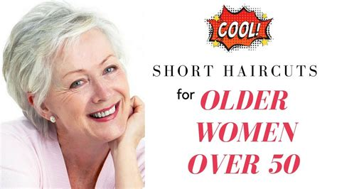 Short Haircuts For Older Women Over 50