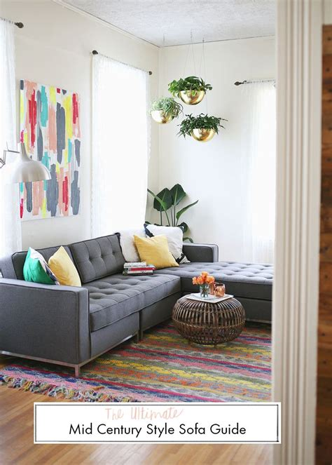 Living Room Furniture Guide by The Ultimate Mid Century Style Sofa Guide Living Room