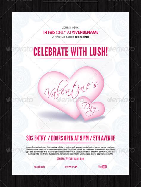 valentines day invitation templates sample