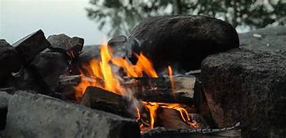 Fogueira Gifs Arte Bonfire Wilderness Oficina Survival