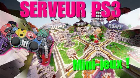 jeux de cuisine serveur serveur minecraft ps3 avec plein de mini jeux