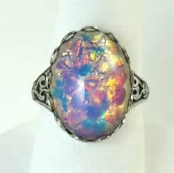 opal and engagement rings opals rings glasses stones antiques silver rings vintage antiques opals vintage rings pink