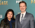 Screenwriter Matt Reeves and his Wife Melinda Wang attend ...