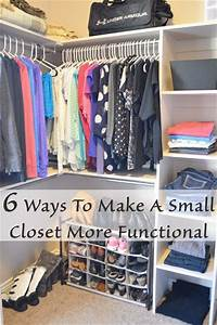 6 ways to make a small closet more functional With functional closet organization ideas for small space
